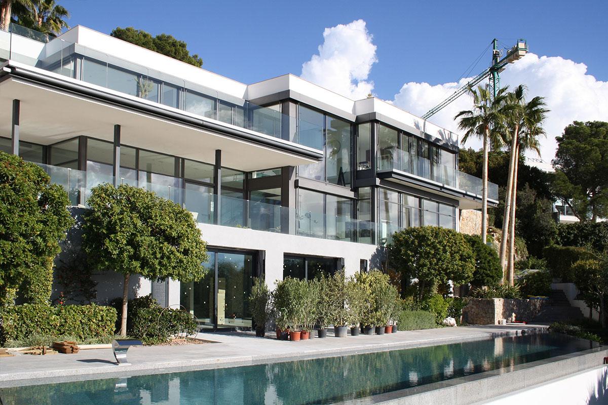 Obra casa unifamiliar en bendinat construcciones y - Proyecto casa unifamiliar ...